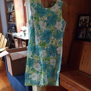 Chadwick watercolor dress, NWOT 10